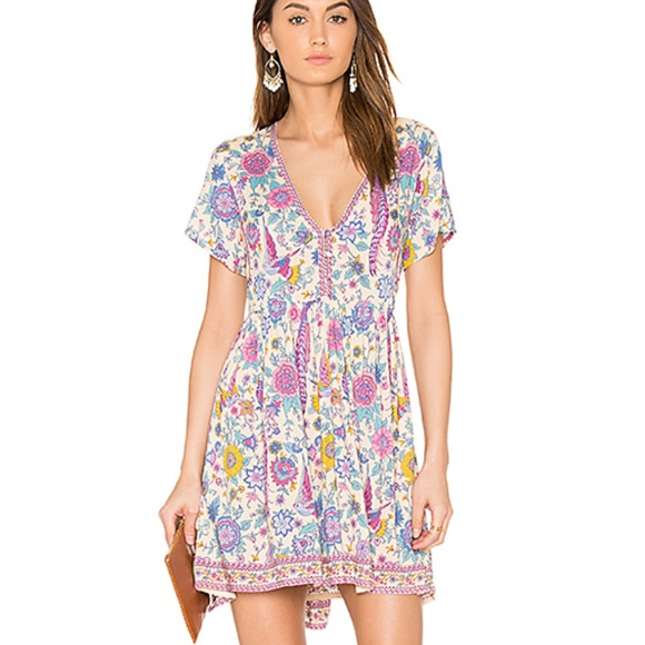 3d65fe9533 NWT LoveBird Mini Boho Summer Chamomile Dress